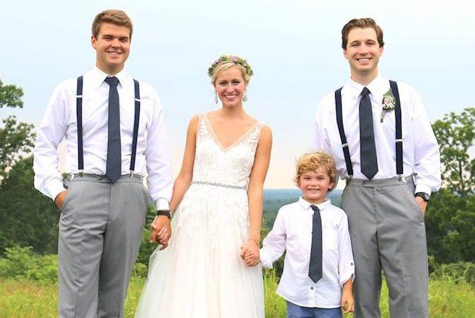 A photo of Haley and Ben - Burdoc Farms wedding